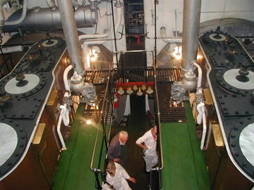 The classic engine room