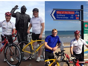 Morecambe to Bridlington ~ Done!