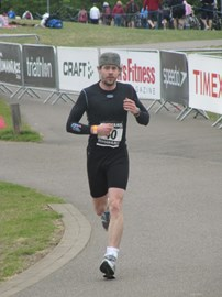 Looking weary.. this was only a sprint!