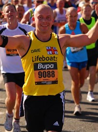 Crossing the finish line, 2009 GNR
