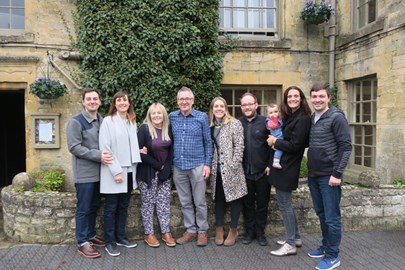 Our last time all together - 29th October 2016 in the Cotswolds