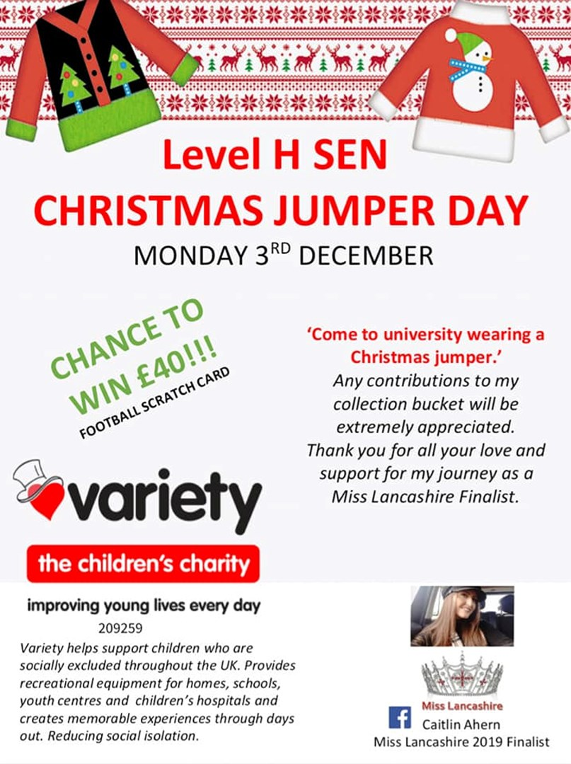 Caitlin Ahern Is Fundraising For Variety The Children S Charity