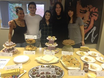 Accountancy Action HQ have been getting their bake on to raise funds for Noah's Ark today