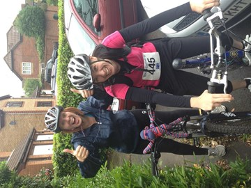 Essex Bike ride with my sister