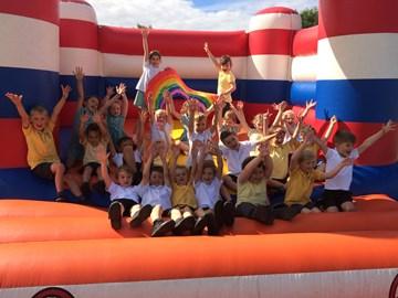 Jump for Gill fundraiser at Kirk Ella St Andrews school