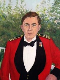 Dawn's painting of John
