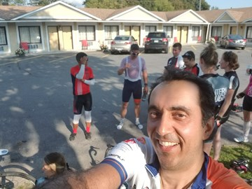 Day 2- 165km- Starting in Salaberry-Quebec- 16Sep2017