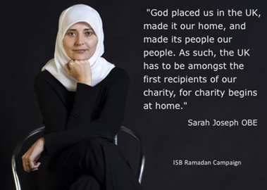 Endorsement from Sarah Joseph OBE