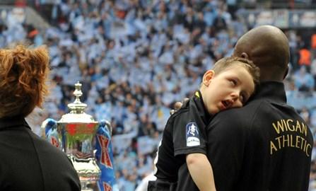 Joseph, mum, the FA Cup & Emmerson