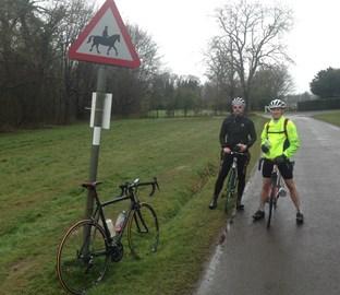 TWR15 Surrey 'wet' Hills Training