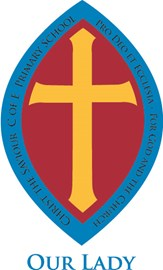 Our Lady house badge