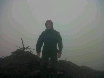 Training in all weathers!