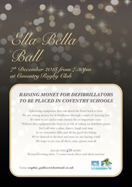 Join us at the ball to raise more funds!!
