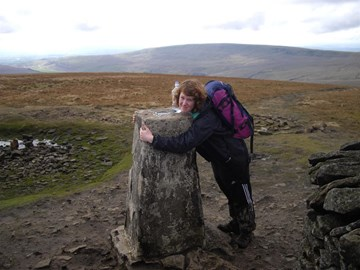 Whernside the second peak.