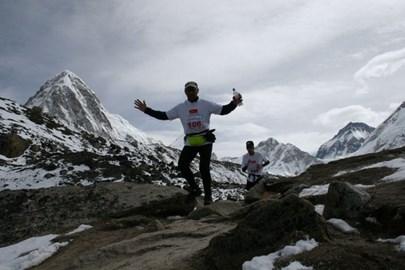 Running the Everest Marathon 2009