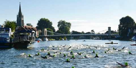 Last year's race at Marlow