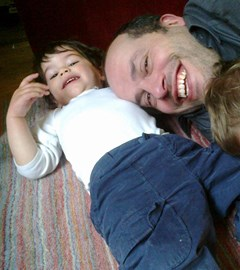 Sacha and Daddy
