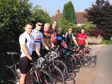 Group cycle today- Chelwood Bridge