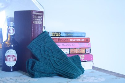After Eight mitts by Kate Heppell
