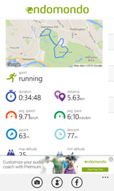 Pushing my distances - my first lunchbreak run to break 5km