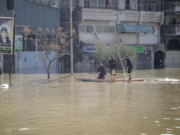Gaza underwater 15th December 2013