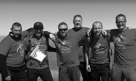 Training day 7th May 17. On top of England.