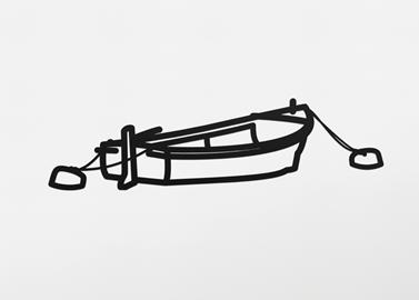 Julian Opie - Boat no. 3 original