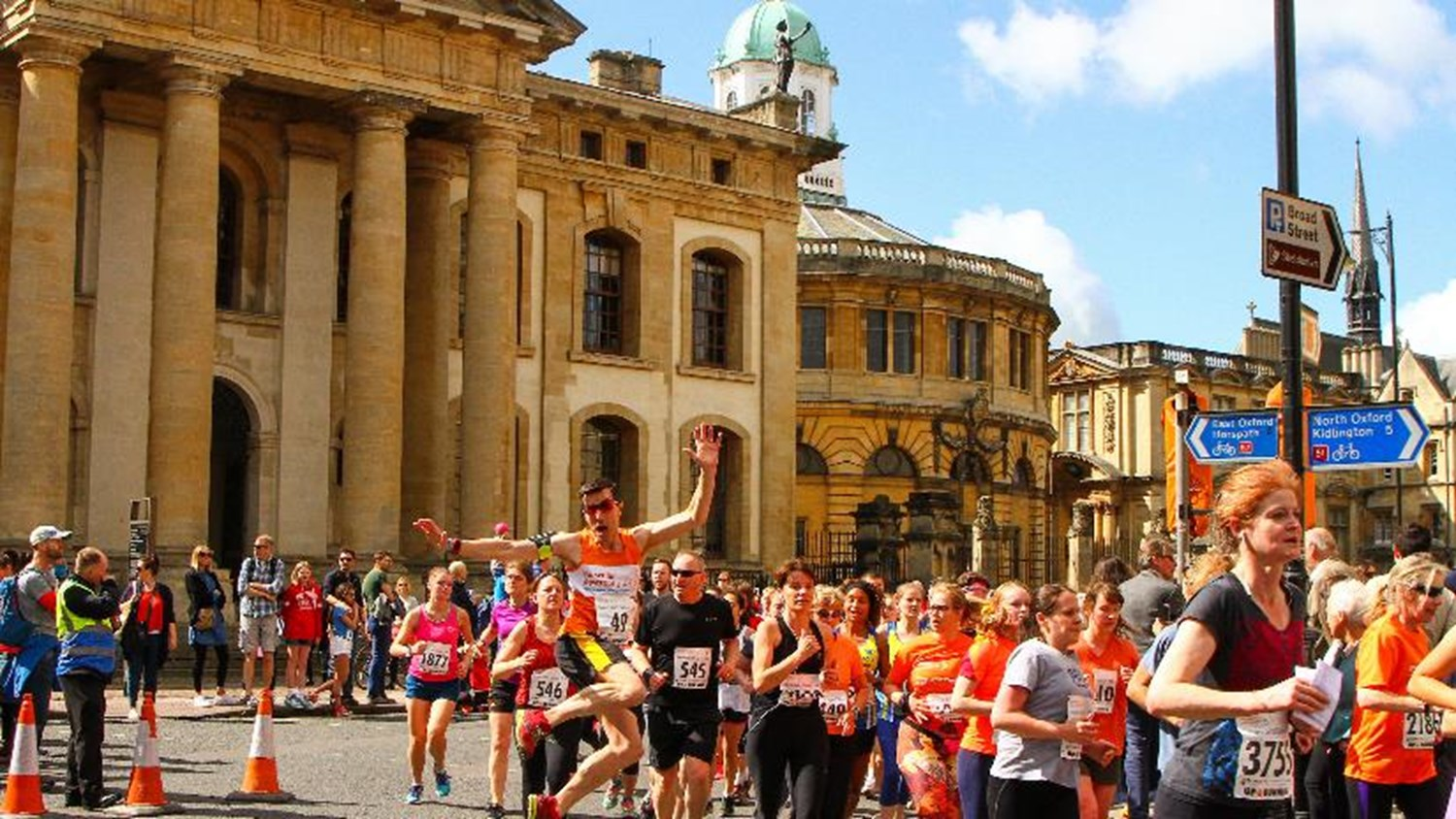 Oxford Town and Gown 2018 - JustGiving