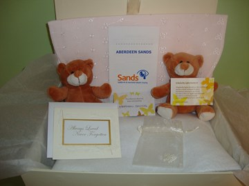 Memory Boxes we supply to AMH