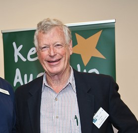 Don Chambers at the Australian Tidy Towns Awards 2013