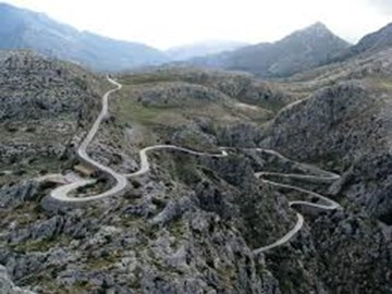 Overview of Sa Calobra