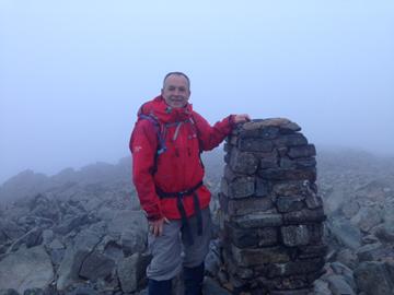 5.31 am 30/5/15. Sca Fell Pyke, Cumbria. England's Highest Mountain