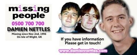 Damien Nettles - Suspected Murder Victim