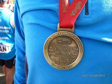 My medal - Its Real Gold!!