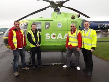 Team visit SCAA HQ