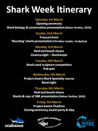 Shark Week Itinerary