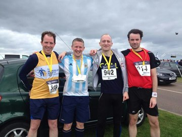 St Andrews 10k - April 2014