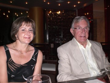 Sarah with her Dad