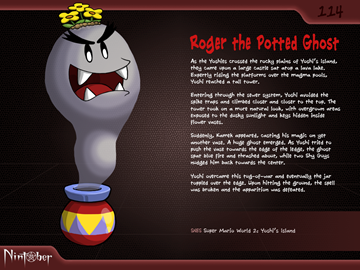 Nintober #114. Roger the Potted Ghost (Yoshi's Island)