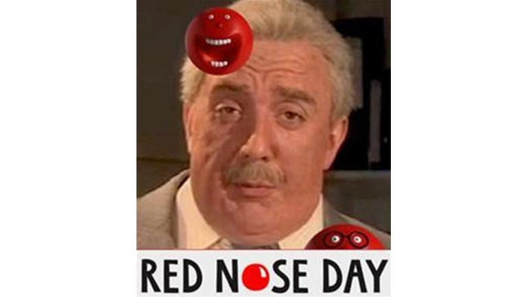 Peter Serafinowicz is fundraising for Comic Relief: Red Nose Day