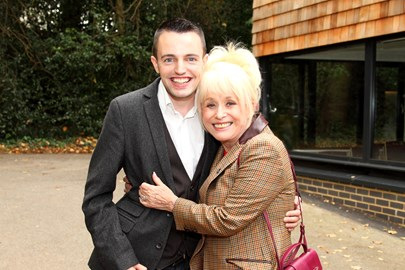 Me and Dame Barbara Windsor supporting Haven House