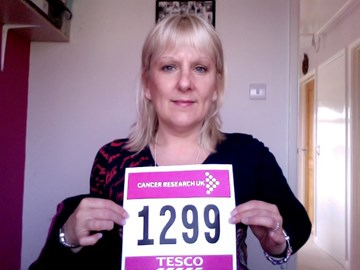 Its official - race number 1299