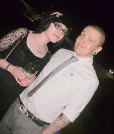 my old 6th form leaving party