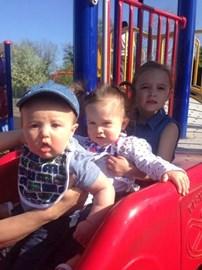 My three beautiful grandchildren x