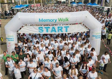 Alzheimer's Society Memory Walk 2017