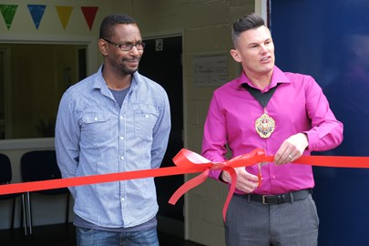 Catalyst Youth Centre officially opened on Saturday 14th May 2016 by the Deputy Lord Mayor Carl Austin-Behan