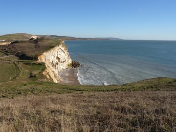 Freshwater Bay: last stage of the walk
