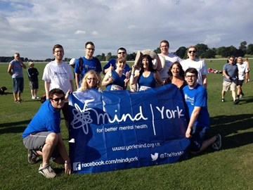 York mind runners and helpers for the York 10km