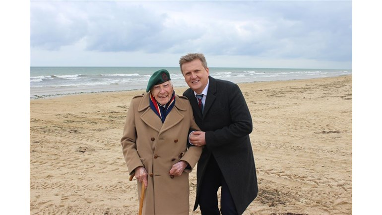 David Waters is fundraising for Normandy Memorial Trust