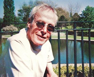 Dad in Rowntree Park (2009)